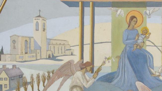 Detail of Children's Chapel Reredos