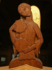 Wood Carving on Choir Stall Screens by James Woodford
